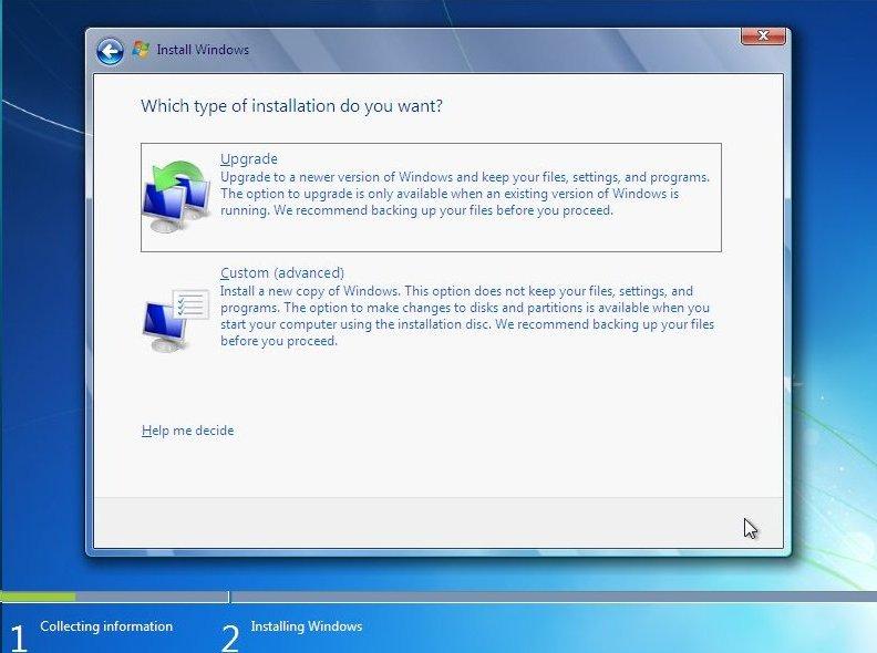 Windows  Home Premium Clean Install Iso